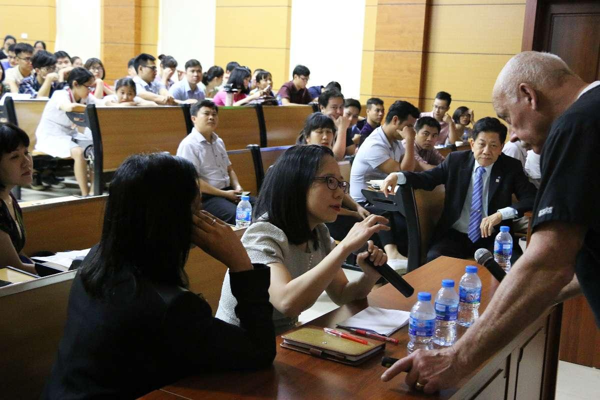 Frank Milnar teaching Hanoi